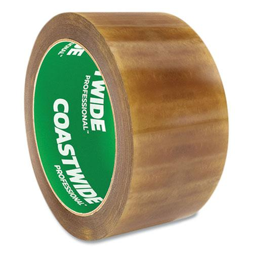 """Packing Tape, 3"""" Core, 2.3 mil, 1.88"""" x 54.6 yds, Clear, 6/Pack. Picture 3"""