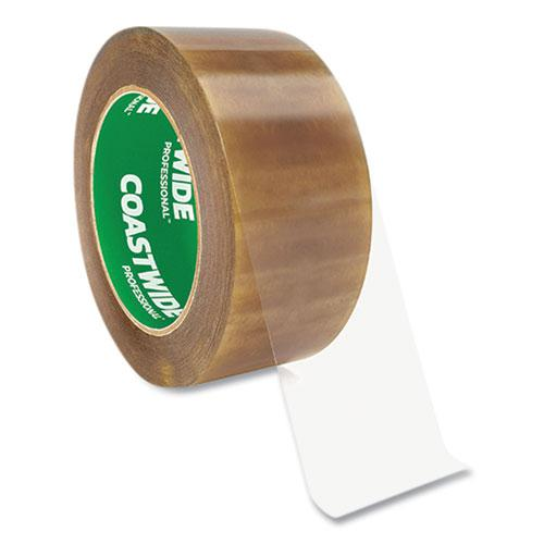 """Packing Tape, 3"""" Core, 2.3 mil, 1.88"""" x 109.3 yds, Clear, 6/Pack. Picture 1"""