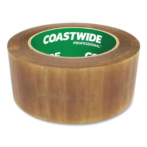 """Packing Tape, 3"""" Core, 2.3 mil, 1.88"""" x 109.3 yds, Clear, 6/Pack. Picture 2"""