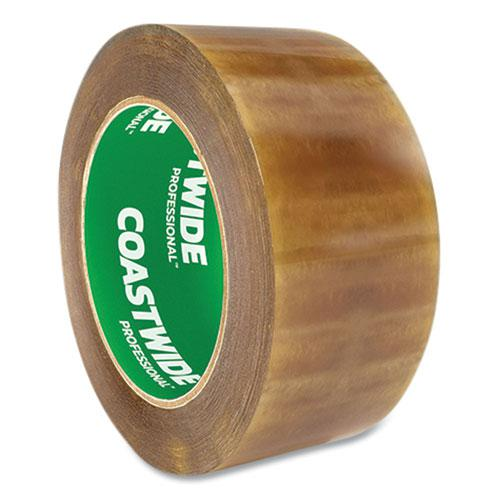 """Packing Tape, 3"""" Core, 2.3 mil, 1.88"""" x 109.3 yds, Clear, 6/Pack. Picture 3"""