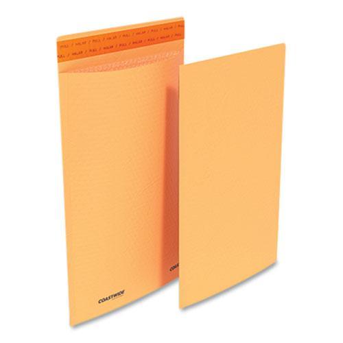Self-Sealing Kraft Bubble Mailer, #3, Square Flap, Self-Adhesive Closure, 9.13 x 13.25, Golden Brown Kraft, 100/Pack. Picture 1