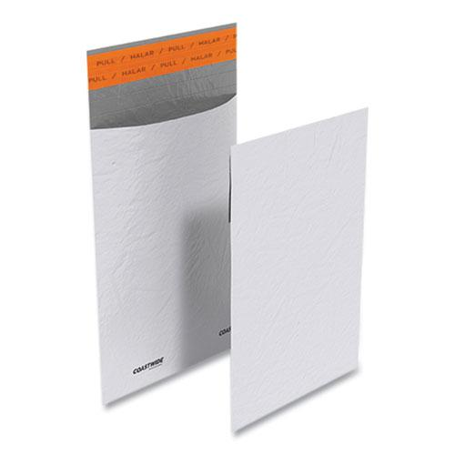 Self-Sealing Poly Mailer, Square Flap, Self-Adhesive Closure, 6 x 9, White, 100/Pack. Picture 1