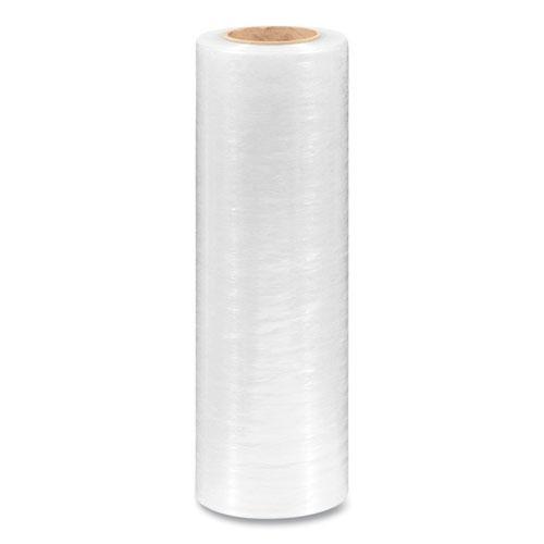 "Extended Core Cast Stretch Wrap, 15"" x 1,500 ft, 80-Gauge, Clear, 4/Carton. Picture 2"