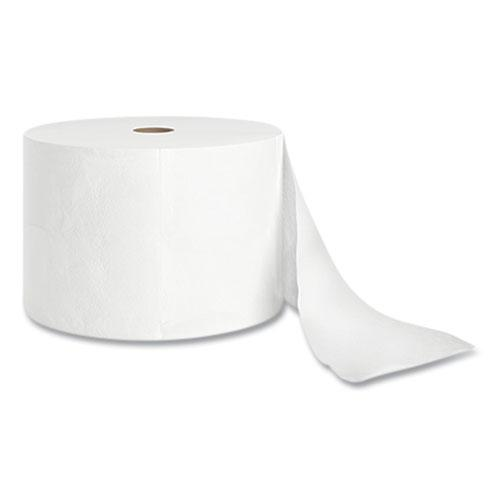 J-Series Two-Ply Small Core Bath Tissue, Septic Safe, White, 4 x 4, 1,000 Sheets/Roll, 36 Rolls/Carton. Picture 1