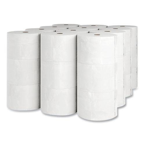 J-Series Two-Ply Small Core Bath Tissue, Septic Safe, White, 4 x 4, 1,000 Sheets/Roll, 36 Rolls/Carton. Picture 2