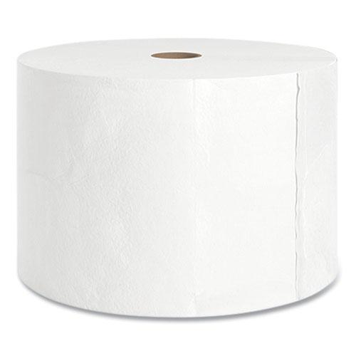 J-Series Two-Ply Small Core Bath Tissue, Septic Safe, White, 4 x 4, 1,500 Sheets/Roll, 18 Rolls/Carton. Picture 3