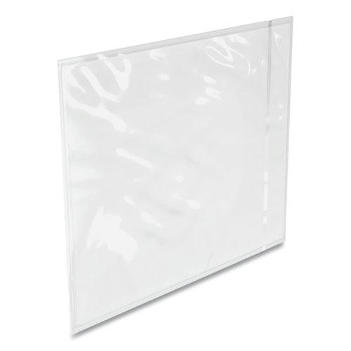 Packing List Envelope, Full-Size Window, 12 x 9.5, Clear, 500/Carton. Picture 1