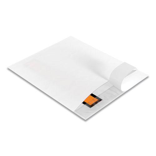 Packing List Envelope, Top-Print Front, 5.5 x 4.5, Clear/Orange, 1,000/Carton. Picture 3