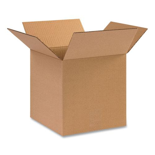 Fixed-Depth Shipping Boxes, 200 lb Mullen Rated, Regular Slotted Container (RSC), 12 x 9 x 9, Brown Kraft, 25/Bundle. Picture 1