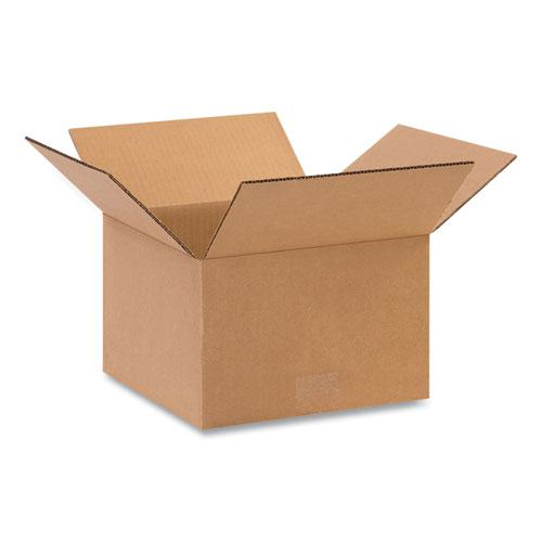 Fixed-Depth Shipping Boxes, 200 lb Mullen Rated, Regular Slotted Container (RSC), 14 x 14 x 6, Brown Kraft, 25/Bundle. Picture 1