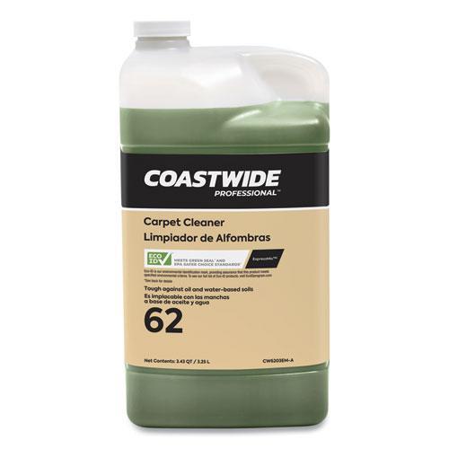 Carpet Cleaner for ExpressMix Systems, Citrus Scent, 3.25 L Bottle, 2/Carton. Picture 1