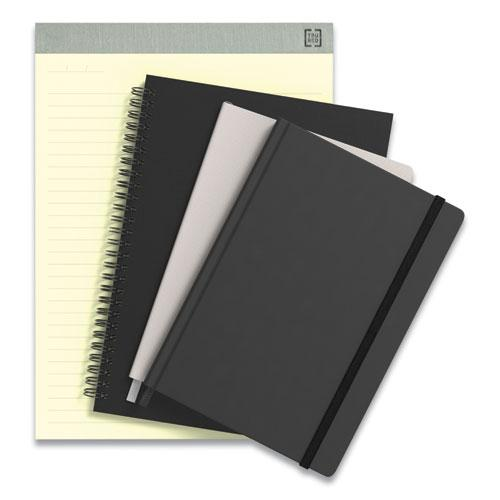 Wirebound Soft-Cover Project-Planning Notebook, Preprinted Planning Template, Black Cover, 9.5 x 6.5, 80 Sheets. Picture 6
