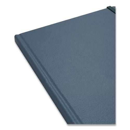 Hardcover Business Journal, Narrow Rule, Teal Cover, 10 x 8, 96 Sheets. Picture 2