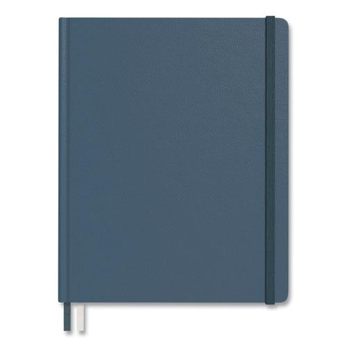 Hardcover Business Journal, Narrow Rule, Teal Cover, 10 x 8, 96 Sheets. Picture 4