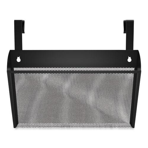 Wire Mesh Wall File, Letter Size, Black. Picture 1