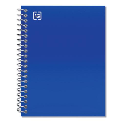 Mini One-Subject Notebook, Medium/College Rule, Blue Cover, 5.5 x 3.3, 200 Sheets. Picture 1