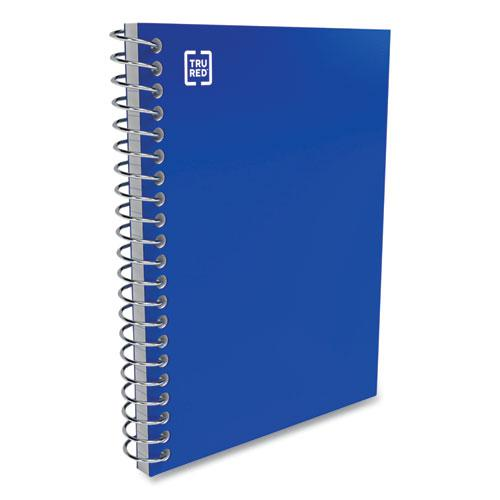 Mini One-Subject Notebook, Medium/College Rule, Blue Cover, 5.5 x 3.3, 200 Sheets. Picture 3