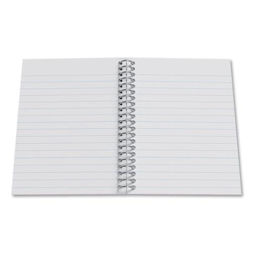 Mini One-Subject Notebook, Medium/College Rule, Black Cover, 5.5 x 3.3, 200 Sheets. Picture 2