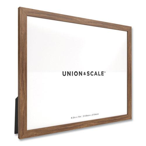 Essentials Wood Document Frame, 8.5 x 11, Espresso Frame. Picture 2