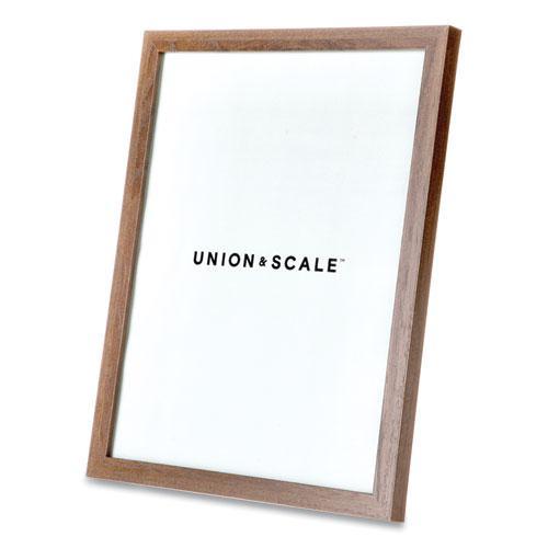 Essentials Wood Document Frame, 8.5 x 11, Espresso Frame. Picture 3