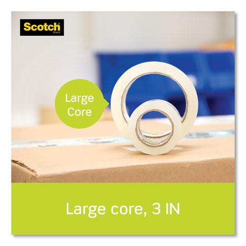 """Sure Start Packaging Tape, 3"""" Core, 1.88"""" x 54.6 yds, Clear, 3/Pack. Picture 4"""