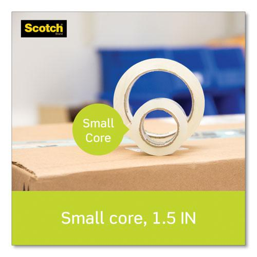 """Sure Start Packaging Tape with Dispenser, 1.5"""" Core, 1.88"""" x 22.2 yds, Clear. Picture 3"""