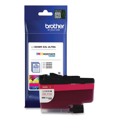 LC3039M INKvestment Ultra High-Yield Ink, 5,000 Page-Yield, Magenta. Picture 4
