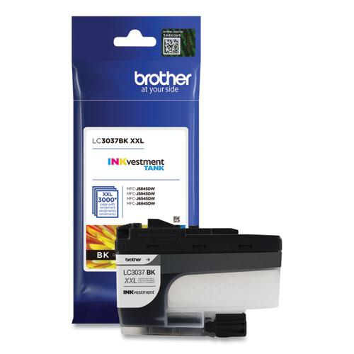 LC3037BK INKvestment Super High-Yield Ink, 3,000 Page-Yield, Black. Picture 4