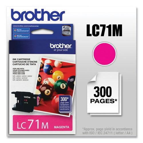 LC71M Innobella Ink, 300 Page-Yield, Magenta. Picture 1