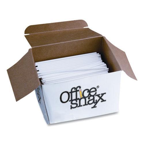 "Plastic Stir Sticks, 5"", Plastic, White, 1000/Box. Picture 3"