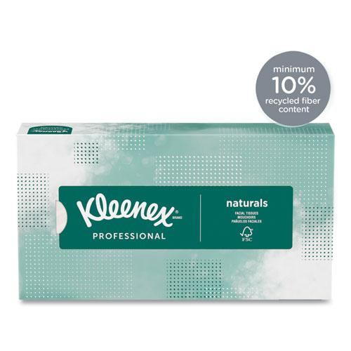 Naturals Facial Tissue, 2-Ply, White, 125 Sheets/Box. Picture 4
