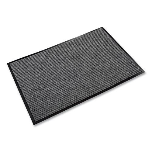 Needle Rib Wipe and Scrape Mat, Polypropylene, 48 x 72, Gray. Picture 4