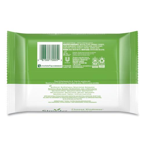 Eye And Skin Care, Facial Wipes, 25/Pack, 6 Packs/Carton. Picture 2