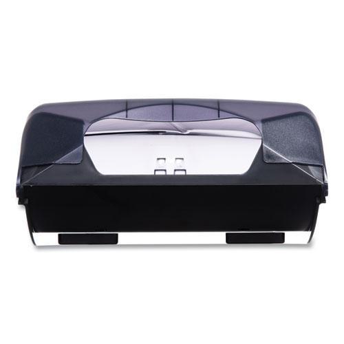 Ultrafold Multifold/C-Fold Towel Dispenser, Oceans, 11.75 x 6.25 x 18, Transparent Black Pearl. Picture 5