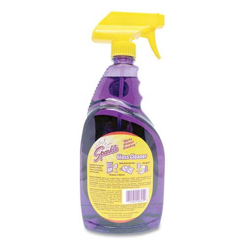 Glass Cleaner, 33.8 oz Spray Bottle. Picture 2