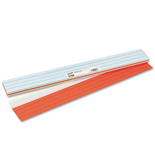 Sentence Strips, 24 x 3, Assorted Colors, 100/Pack. Picture 1