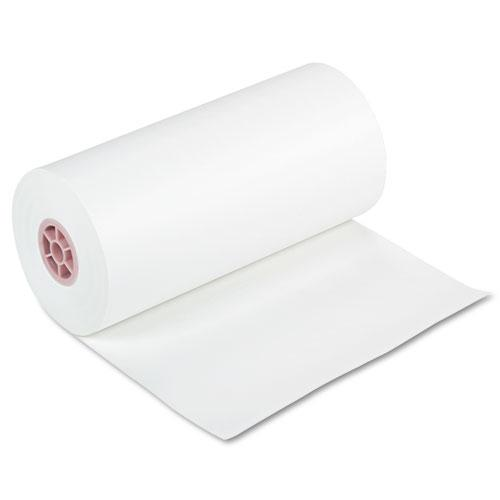 """Kraft Paper Roll, 40lb, 18"""" x 1000ft, White. Picture 1"""