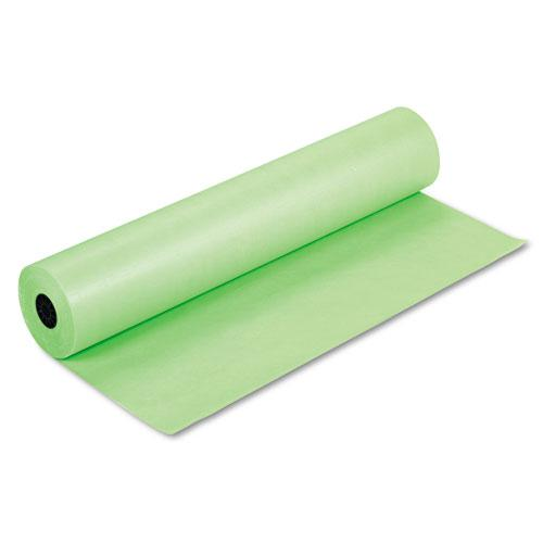 """Rainbow Duo-Finish Colored Kraft Paper, 35lb, 36"""" x 1000ft, Lite Green. Picture 1"""