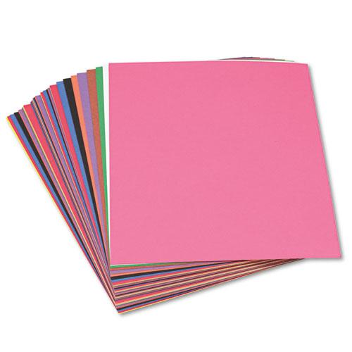 Construction Paper, 58lb, 12 x 18, Assorted, 50/Pack. Picture 2
