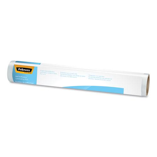 """Self-Adhesive Laminating Roll, 3 mil, 16"""" x 10 ft, Gloss Clear. Picture 1"""