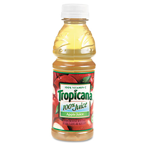 100% Juice, Apple, 10oz Bottle, 24/Carton. Picture 1