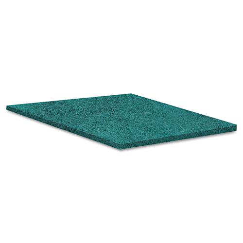 Medium Duty Scour Pad, Green, 6 x 9, 20/Carton. Picture 2