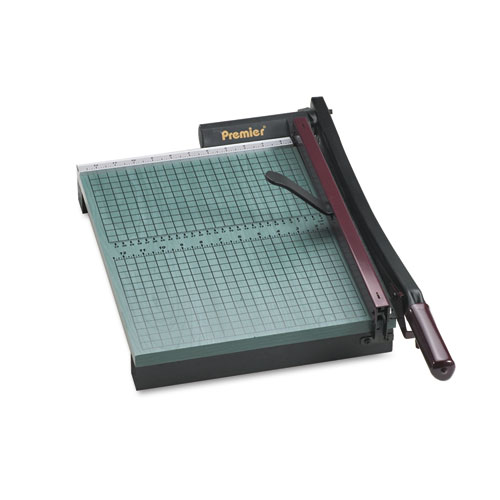 """StakCut Paper Trimmer, 30 Sheets, Wood Base, 12 7/8"""" x 17-1/2"""". Picture 1"""