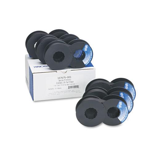 107675001 Ribbon, Black. Picture 1
