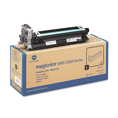 A03100F Drum Unit, 30,000 Page-Yield, Black. Picture 2