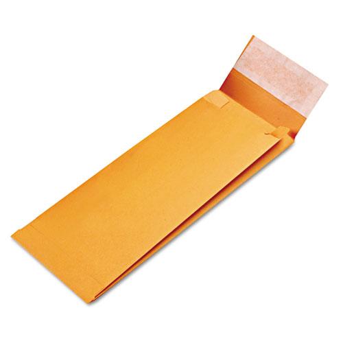 Redi-Strip Kraft Expansion Envelope, #14, Square Flap, Redi-Strip Closure, 5 x 11, Brown Kraft, 25/Pack. Picture 2
