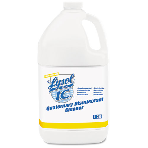 Quaternary Disinfectant Cleaner, 1gal Bottle, 4/Carton. Picture 1