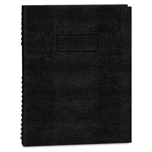 EcoLogix NotePro Executive Notebook, Medium/College Rule, Black, 11 x 8.5, 100 Sheets. Picture 1