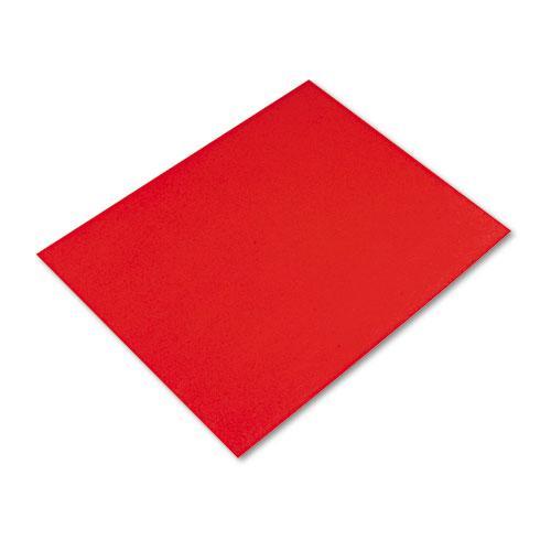 Four-Ply Railroad Board, 22 x 28, Red, 25/Carton. Picture 1