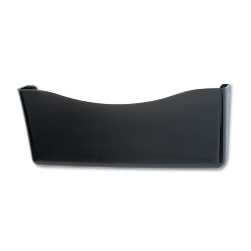 Unbreakable Single Pocket Wall File, Legal, Smoke. Picture 1